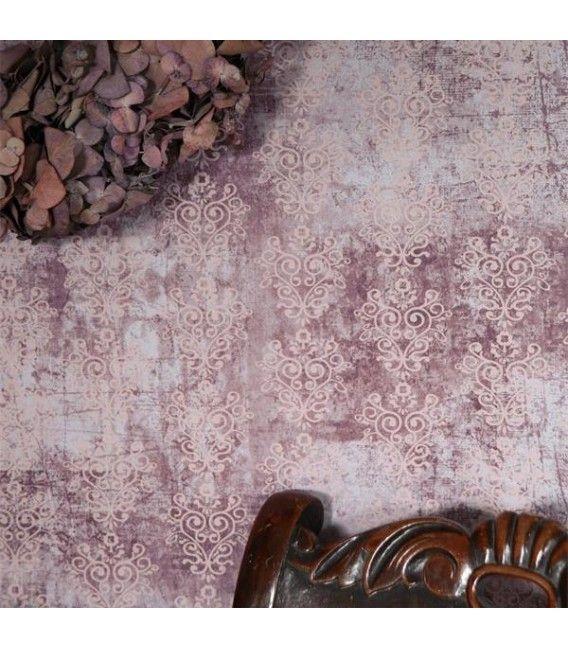 Jeanne d'Arc Living Tapet, violet/rosa