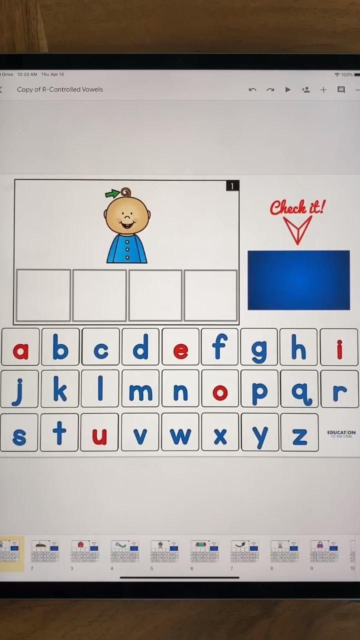 NEW 💥Digital Digital Word/Phonics Cards for Google Classroom™ Google Slides™ NOW include: CVC Words, Blends, Digraphs, R-Controlled Vowels & Long Vowels!