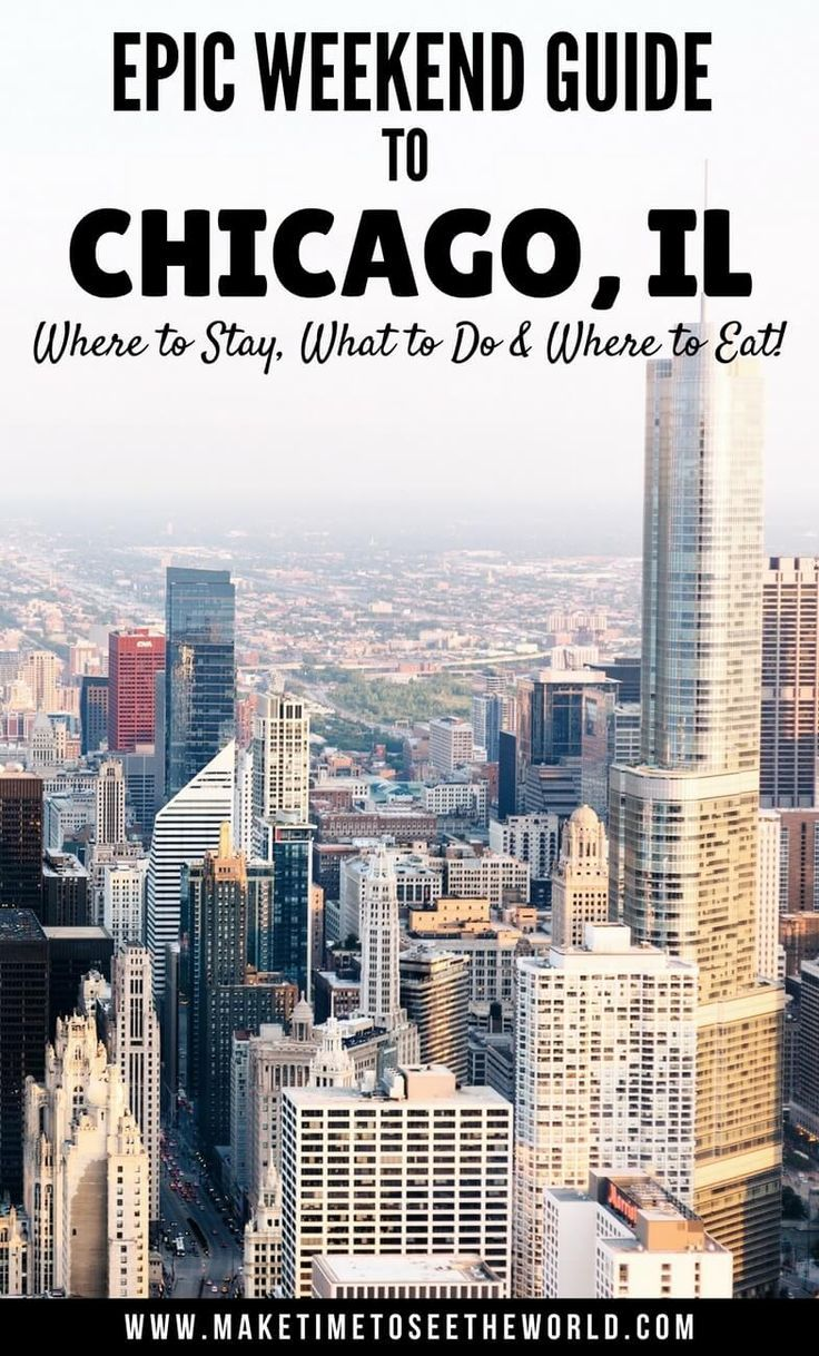 48 Hours in Chicago: Things To Do, Where To Stay & Where To Eat! Click for all of the Windy City's Highlights to make help plan your weekend trip