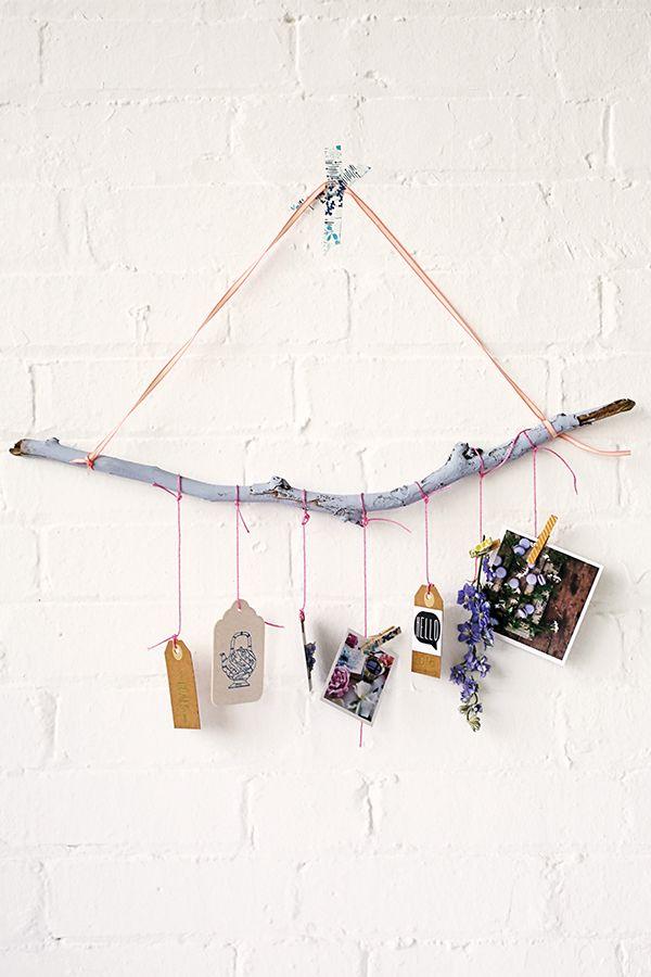 DIY wall hanging for creatives Mollie Makes calendar 2016 Art