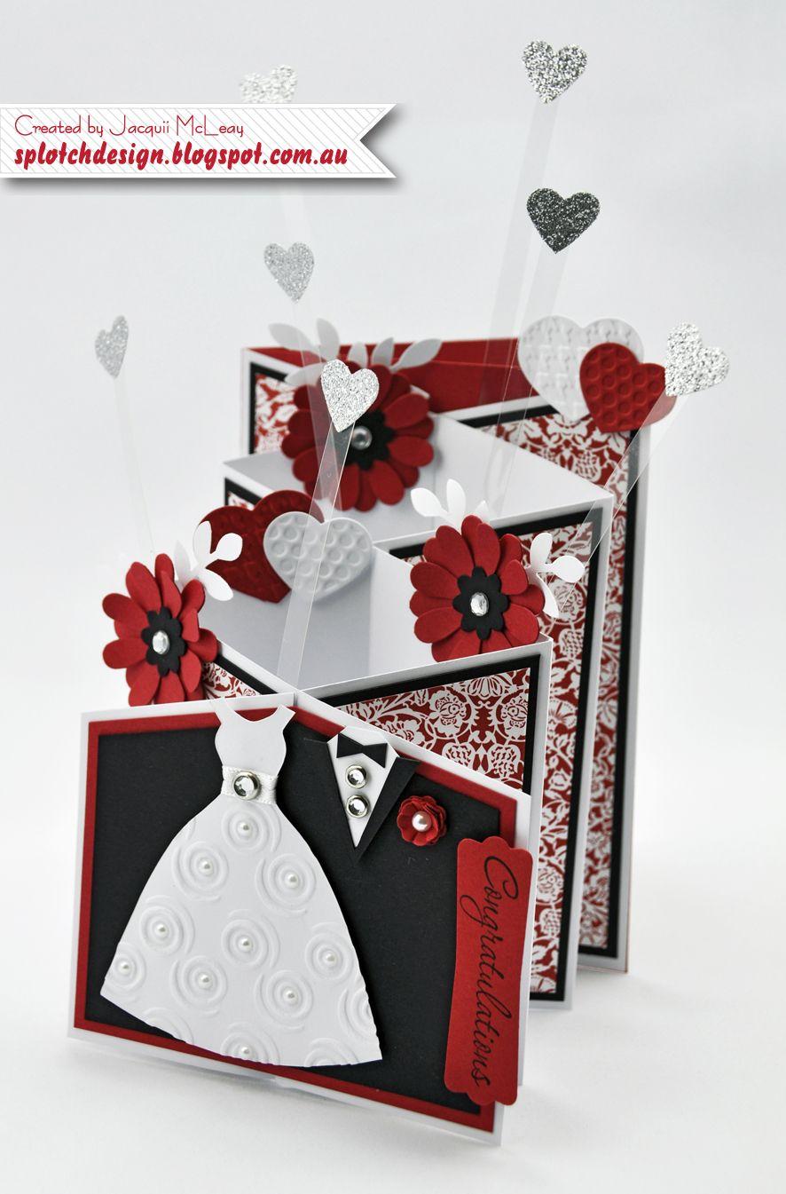 Independent stampin up demonstrator wedding cards