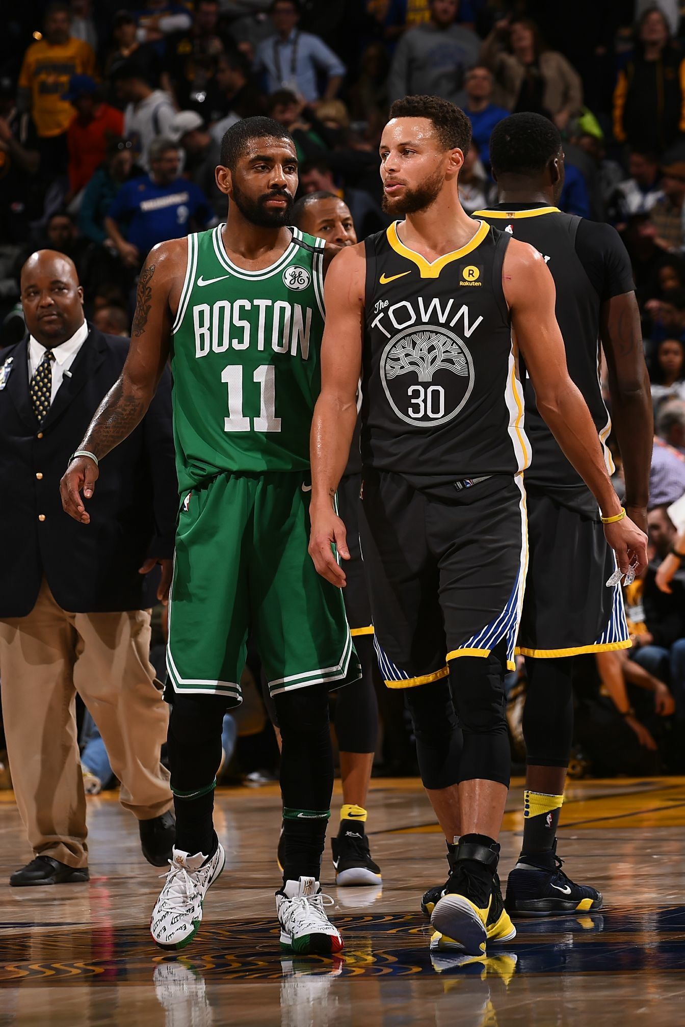 fb39d770d1d Kyrie Irving - Boston Celtics and Stephen Curry