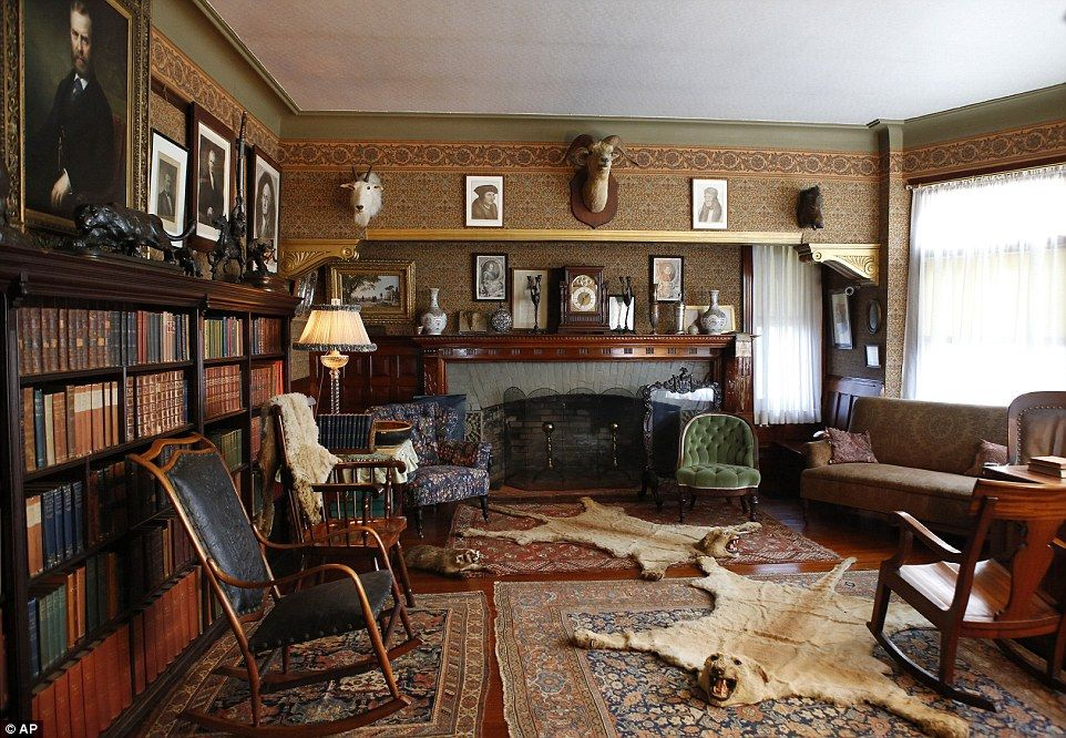 Teddy Roosevelt S Summer White House Set To Reopen After 10m Works Roosevelt House Trophy Rooms House