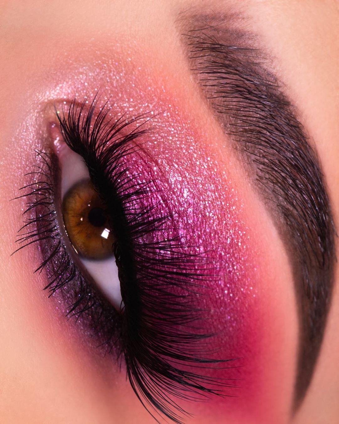 how to do pink smokey eye makeup
