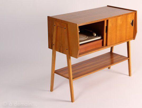 meubles en bois annee 50