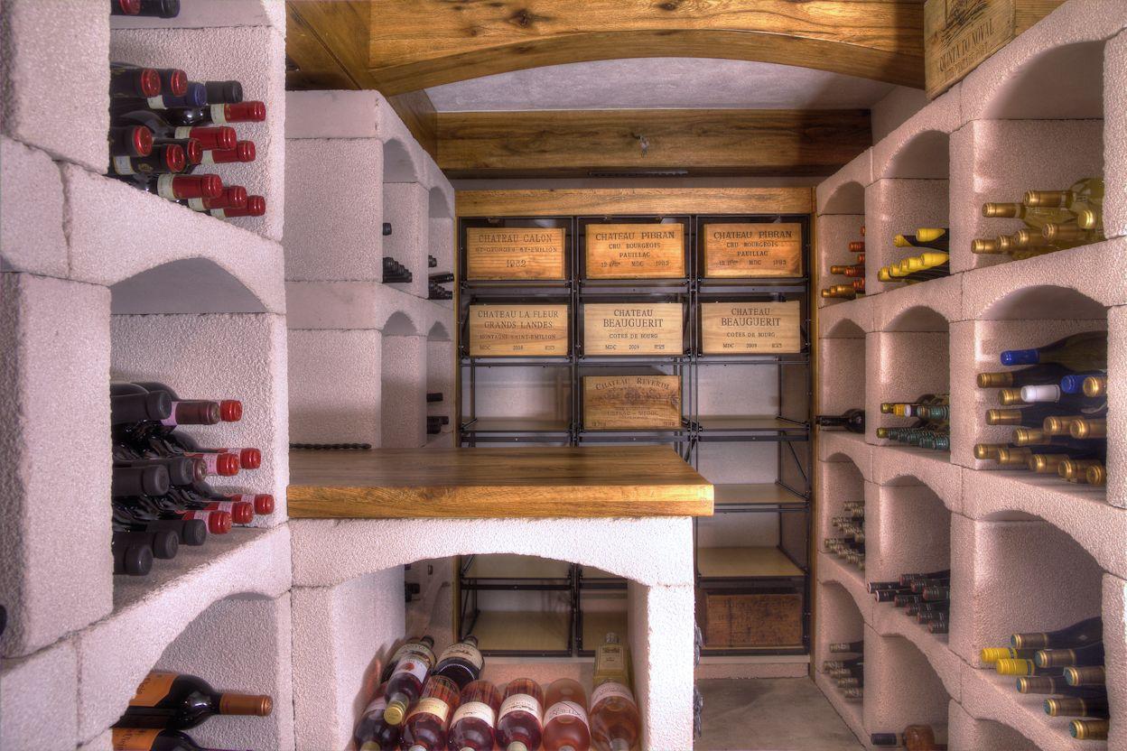 Wijnkelder in de omgeving van arnhem uitgerust met ons classic