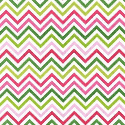 Pink Green Chevron From Robert Kaufman 1 Yard By Schstashdiva 8 75 Blanket