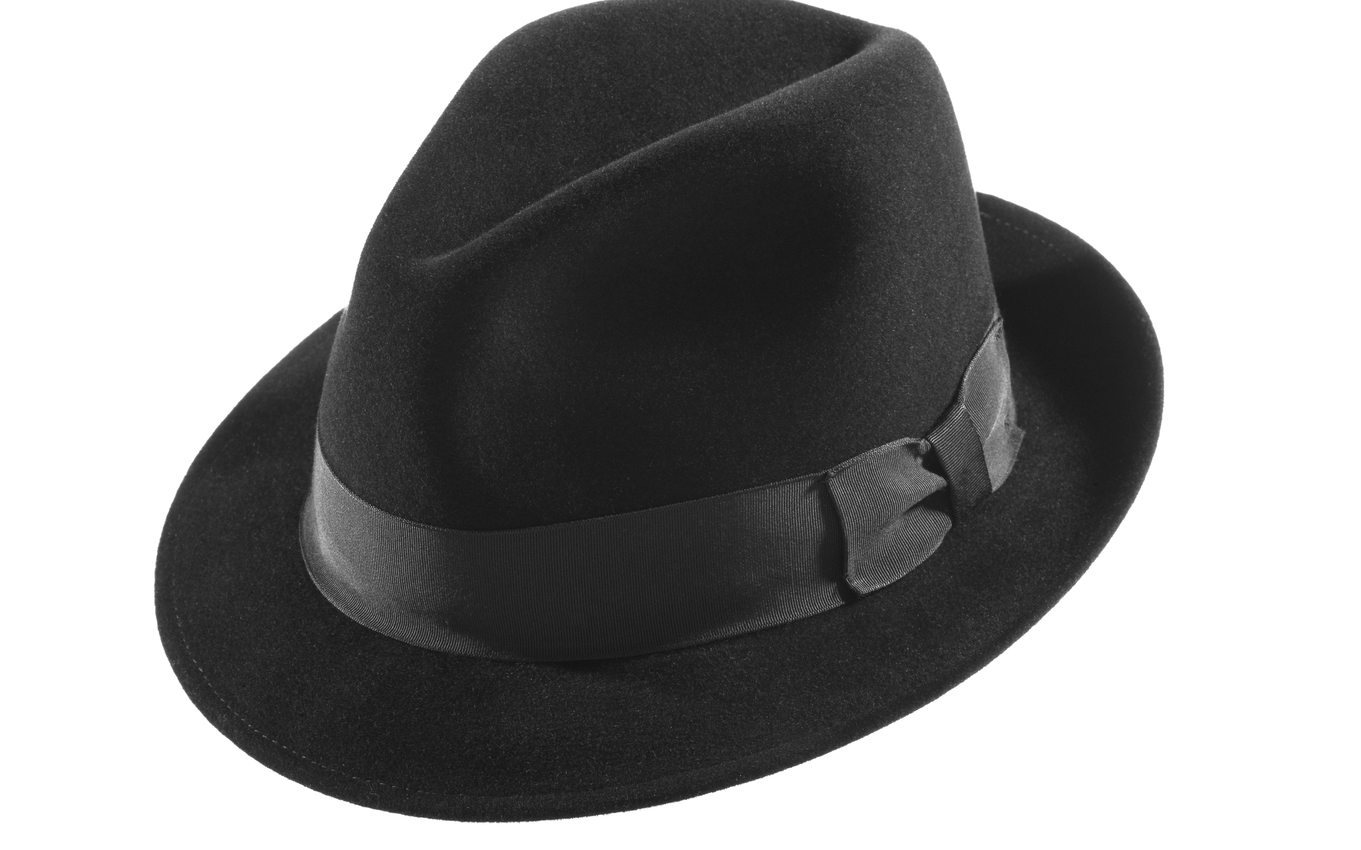 b50b247fd Hat - Classic fedora with traditional flattened bow | Fashion Finds ...