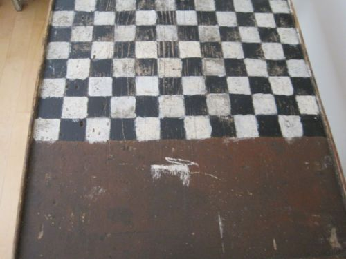 19th-Century-Original-Old-Wood-Wood-Game-Checkerboard-Table-Original-Game-Pieces
