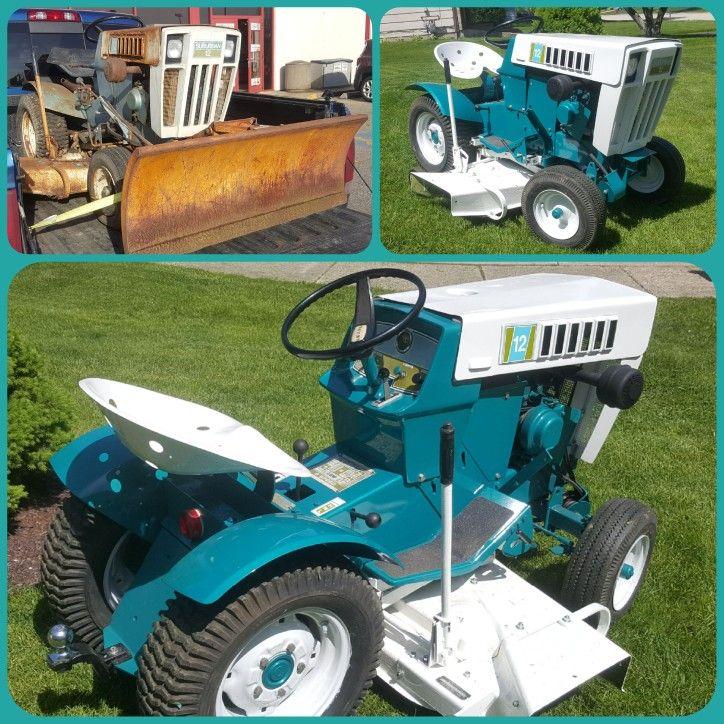 1969 Sears Suburban 12 garden tractor | sears suburban 12