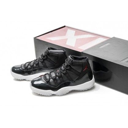 32c50a3f898 Men s Air Jordan 11 Retro 72-10 Black Gym Red-White-Anthracite ...