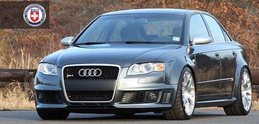 Audi RS4 B7 - On HRE Performance Wheels