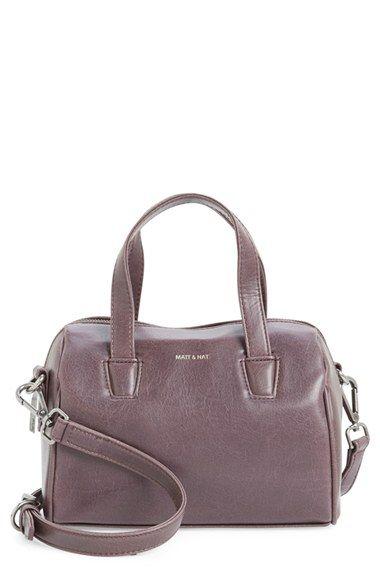 a160e4fb3682 Matt & Nat 'Mini Mitsuko' Faux Leather Satchel available at #Nordstrom