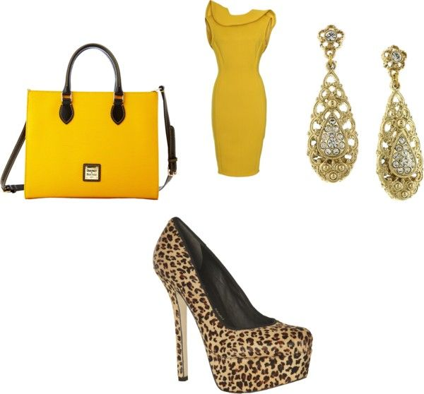 """Love yellow"" by lisa-byrd on Polyvore"