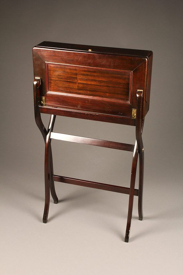 English Officer's Antique Field Desk #edwardianperiod