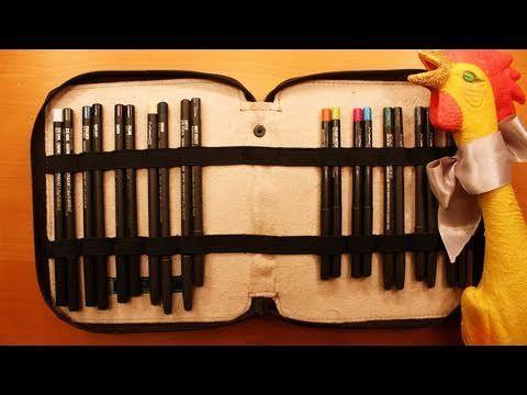 ▶ Organizing: Eye/Lip Pencils - YouTube