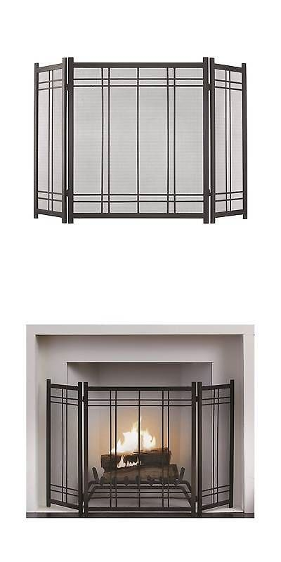 Fireplace Screens And Doors 38221 Pleasant Hearth Preston Fireplace