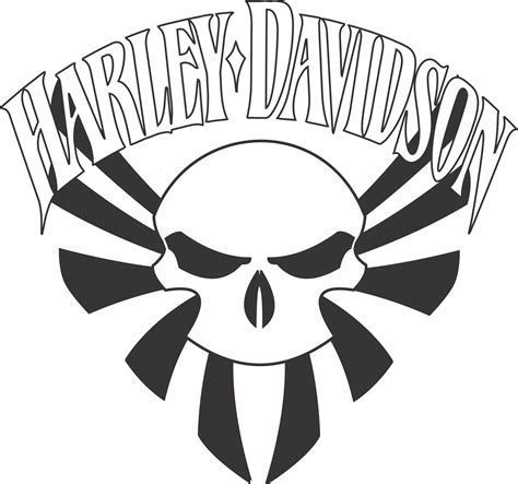 Image Result For Printable Harley Davidson Stencil Shield
