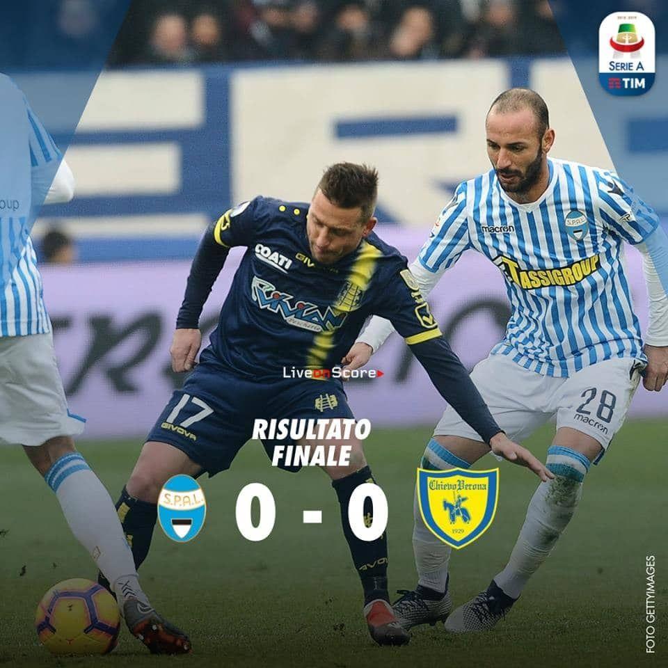 SPAL 00 Chievo Full Highlight Video Serie A 2018/2019