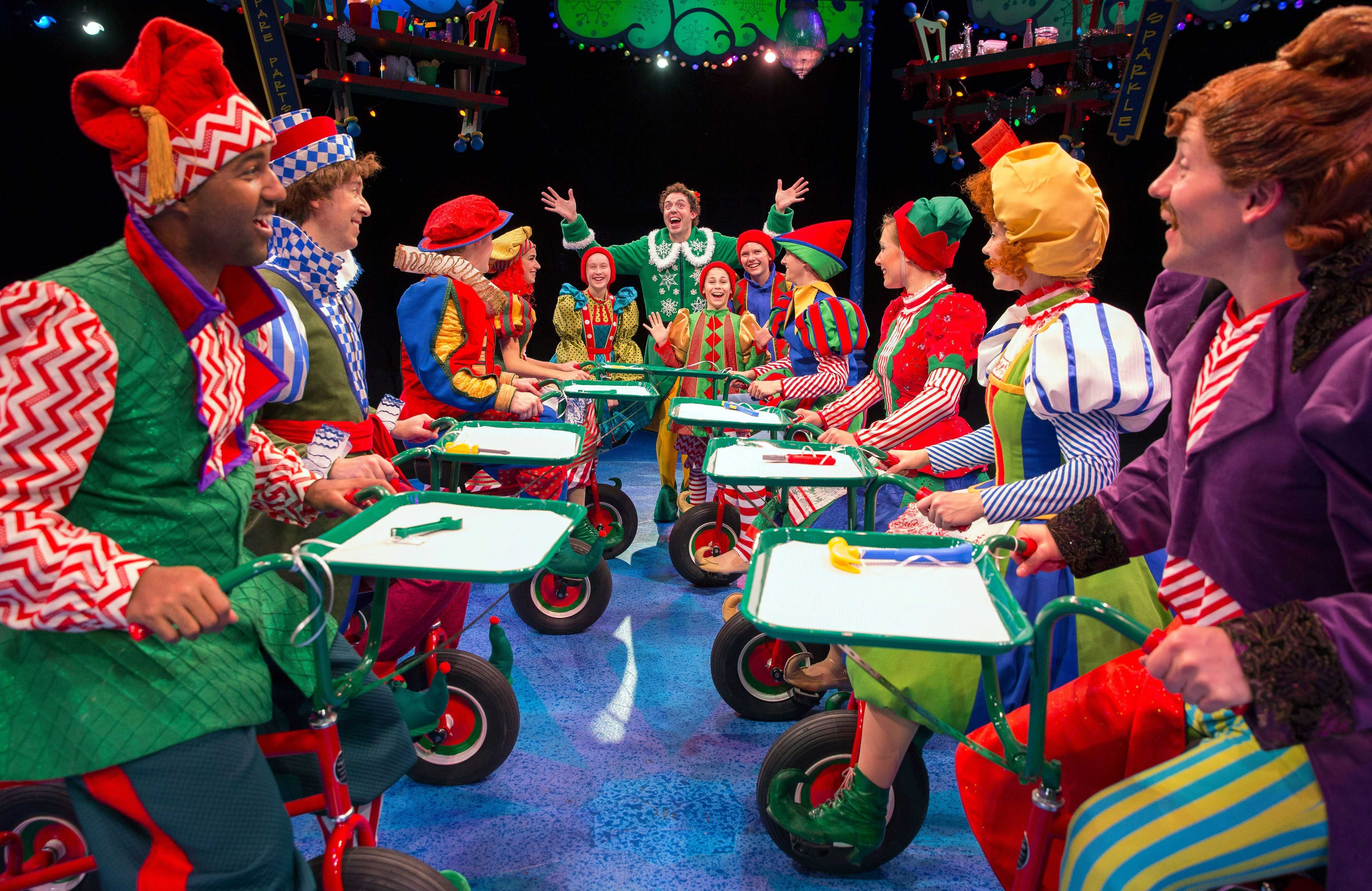 MarriottTheatre.com/Elf   847-634-0200 Elf: October 21 - December 31, 2015 A Very Special Gift! One of the most loved holiday movies is now a full grown Broa...
