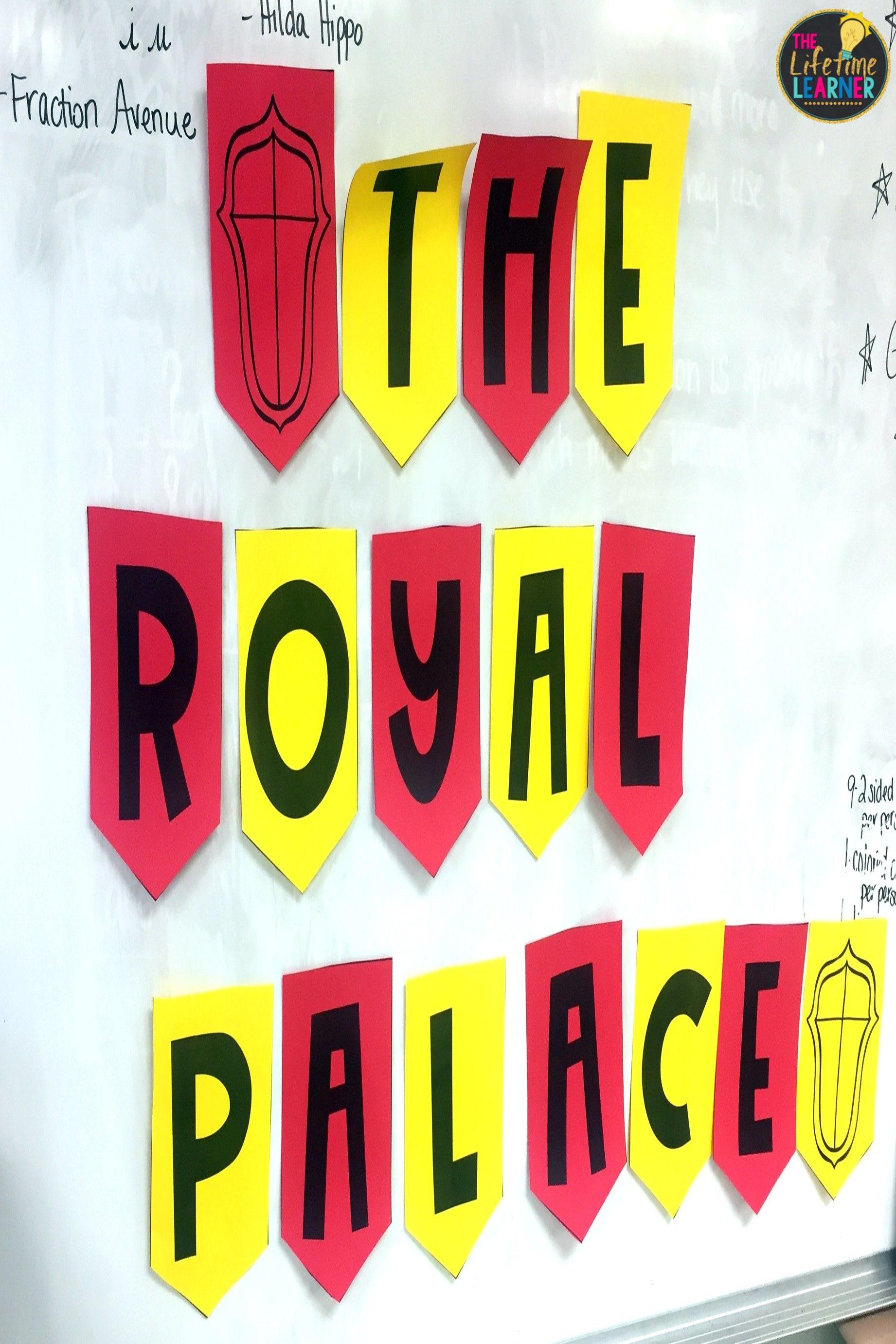 Fourth Grade Royal Classroom Transformation