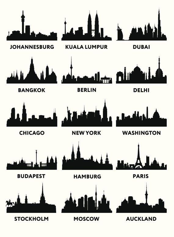 Skyline-Motivtorten selber machen: New York und Co zum Anbeißen #fondant
