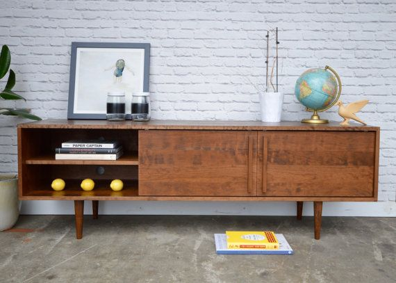 The Kasse Is A Beautiful And Sturdy Tv Stand That Will Organize All