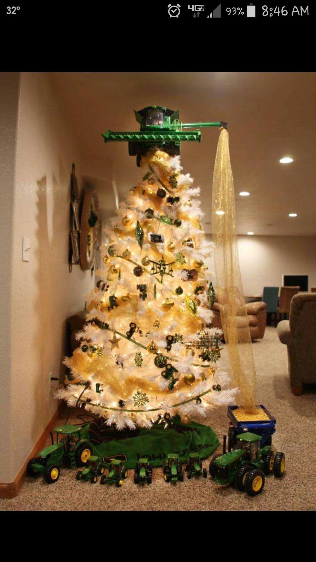 John Deere tree   Kid stuff   Pinterest   Christmas tree, Christmas ...
