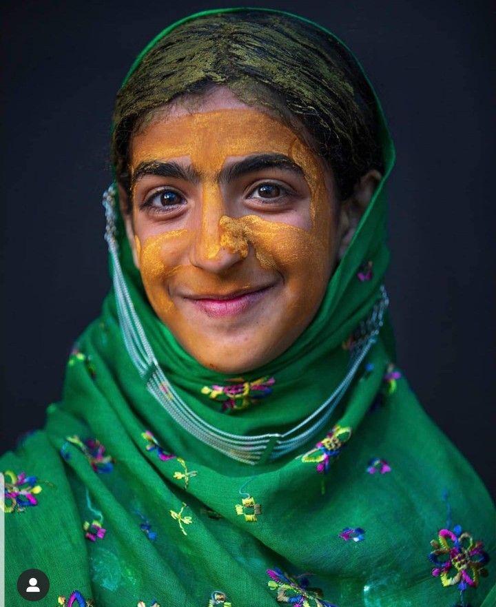 Beauty Fashion Food: Omani Beauty With Traditional Makeup