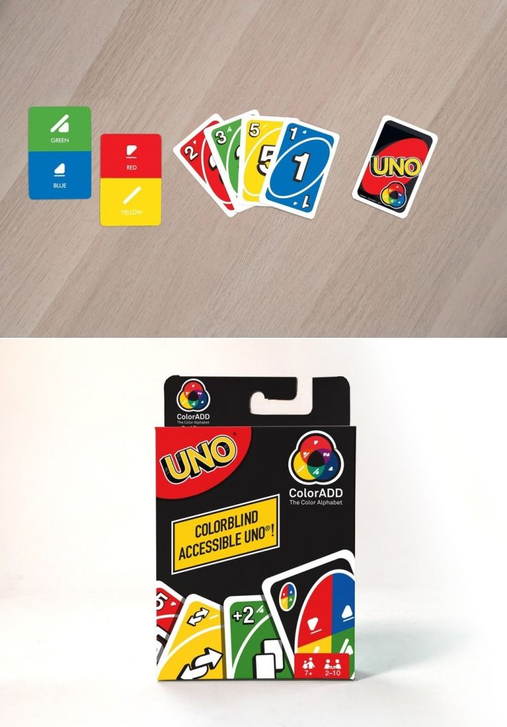 The First Card Game For The Colorblind Is Here Meet Uno Coloradd