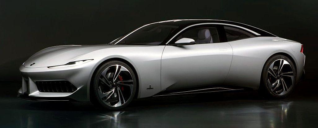 Karma Pininfarina Gt 2019 An Electric 2 Door Coupe Prototype Based On The Karma Revero That Is The First Pininfarina Desi In 2020 Tesla Model Automotive Design Karma