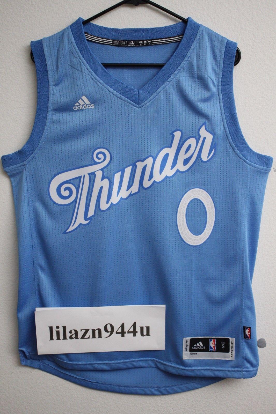 NBA Oklahoma City Thunder Russell Westbrook Christmas Swingman Men ...
