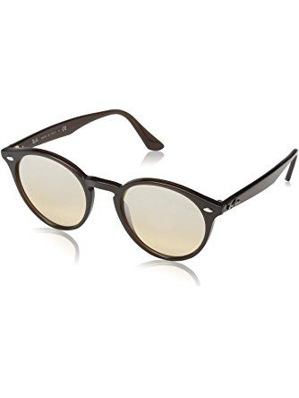 fd77476551079 Ray-Ban INJECTED MAN SUNGLASS - OPAL BROWN Frame BROWN MIRROR SILVER  GRADIENT Lenses 51mm Non-Polarized ❤ Ray-Ban Sunglasses