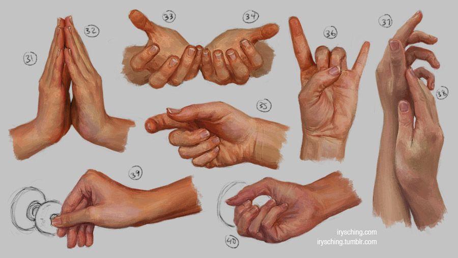 Hand Study 4 by irysching.deviantart.com on @deviantART