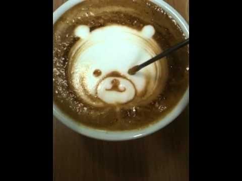 Bear pour
