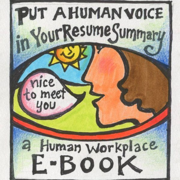 eBook Put a Human Voice in Your Resume Summary Human voice and - nice resume examples