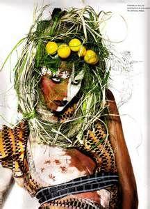 Magdalena Frackowiak Shoots for Numero Magazine, African Style