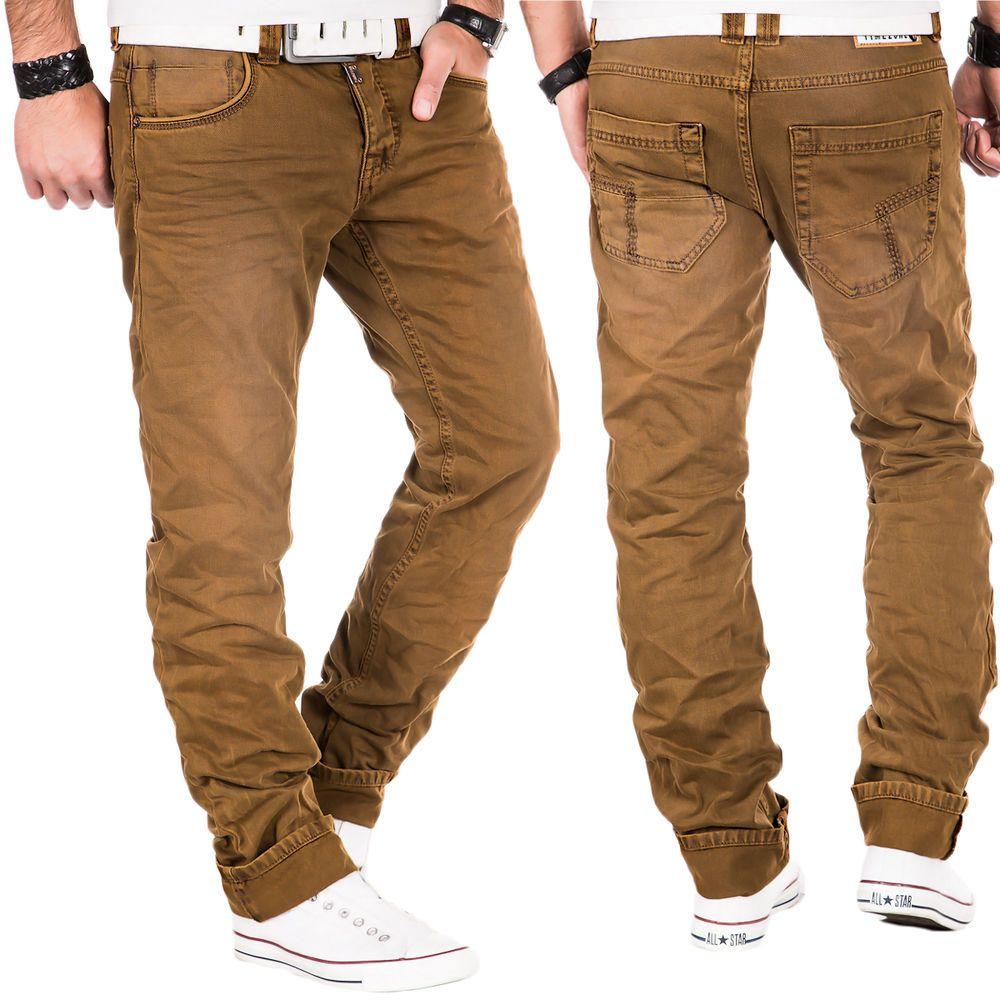 details zu timezone herren jeans hose cargo denim clubwear. Black Bedroom Furniture Sets. Home Design Ideas