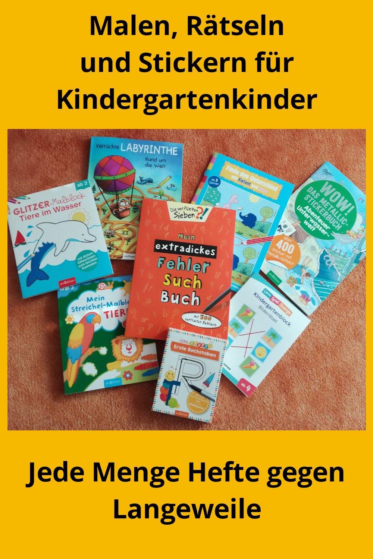 Beschaftigungsbucher Fur Kindergartenkinder Kindergartenkind Kinder Bucher Fur Kinder