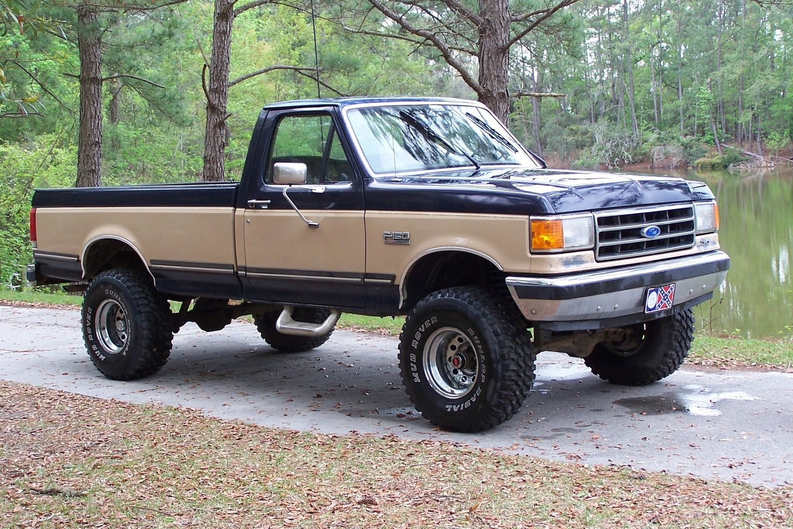 Seriously I Absolutely Enjoy This Paint Color For This 1992 F150