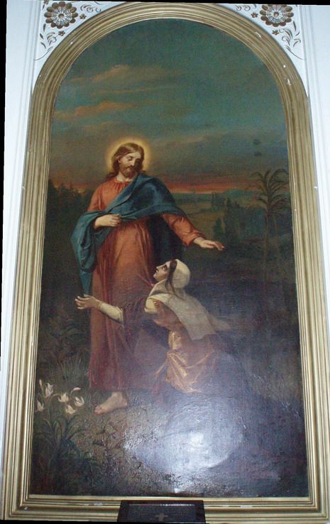 Alexandra Frosterus-Såltin: Kristus ja kanaanilainen nainen, 1878.