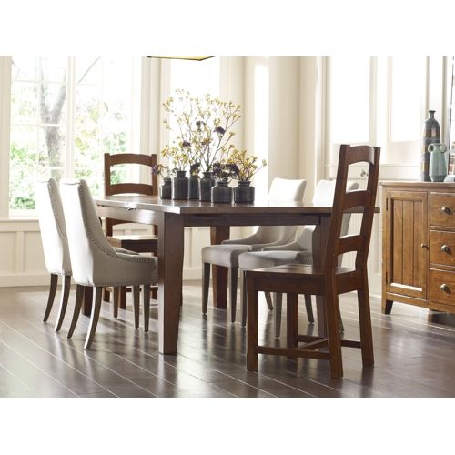 irish coast dining table with 4 side chairs | hom furniture | new