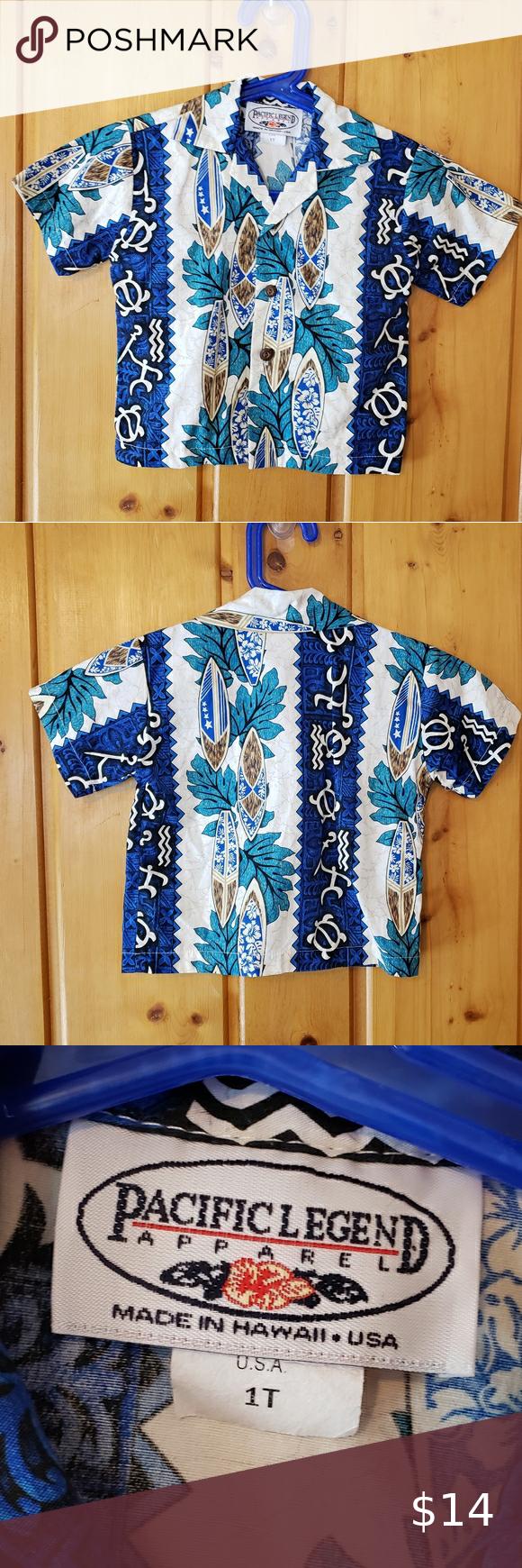 Kid's Pacific Legend Apparel Shirt