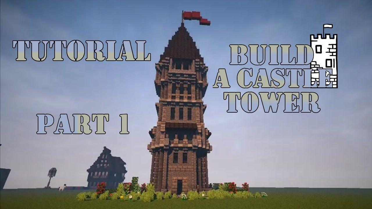 Minecraft Tutorial - Burgturm bauen - Build Castle Tower  Part 26