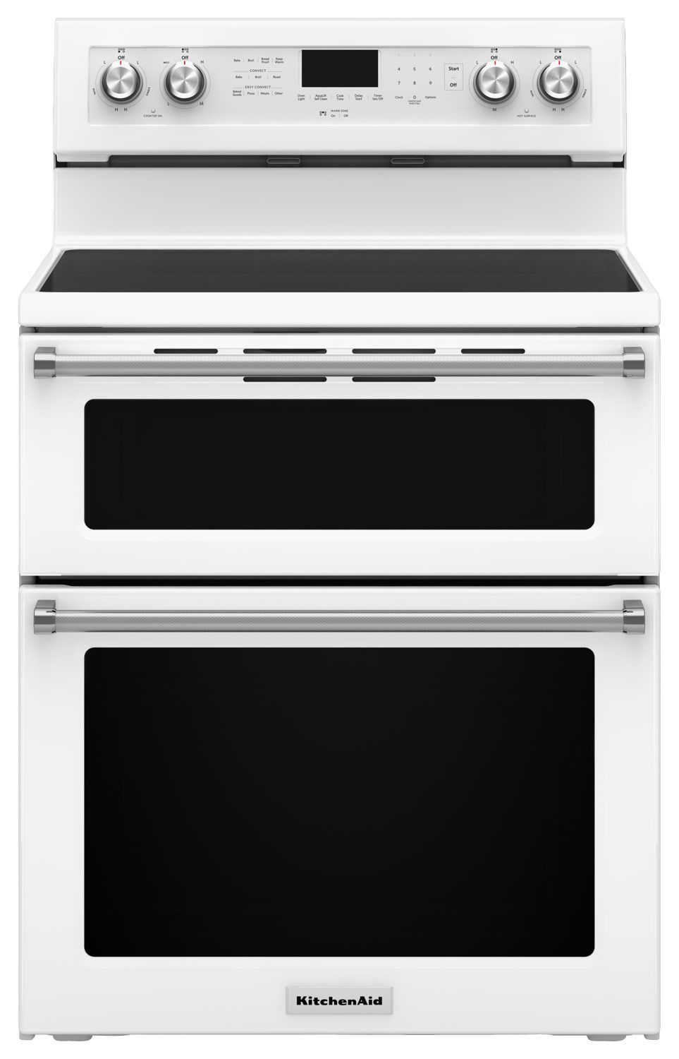 Kitchenaid 67 cu ft selfcleaning freestanding double