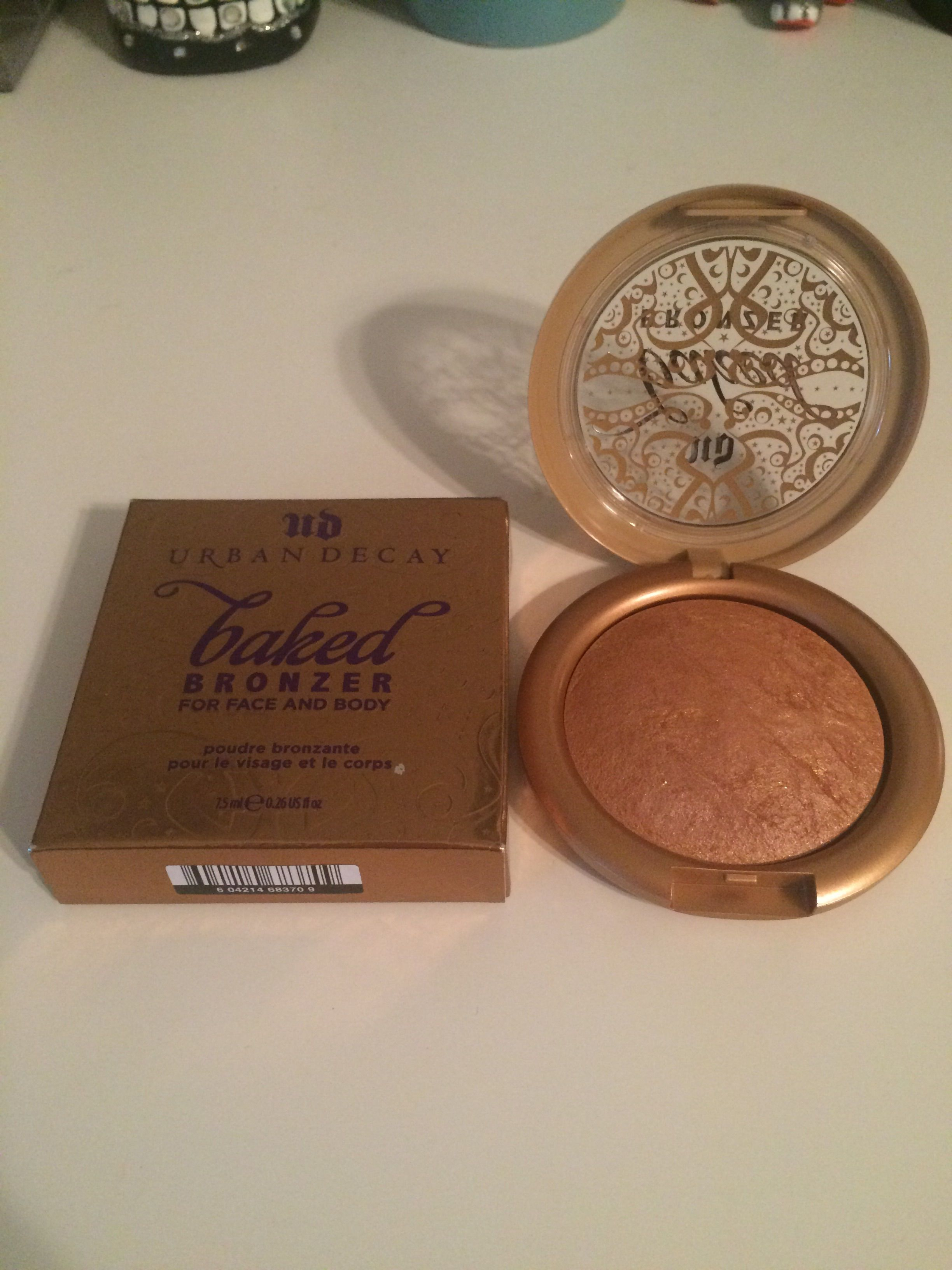 Sell/Swap Urban Decay Baked Bronzer in Gilded. Swatched