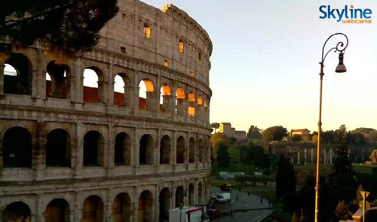 Live Webcam Colosseo