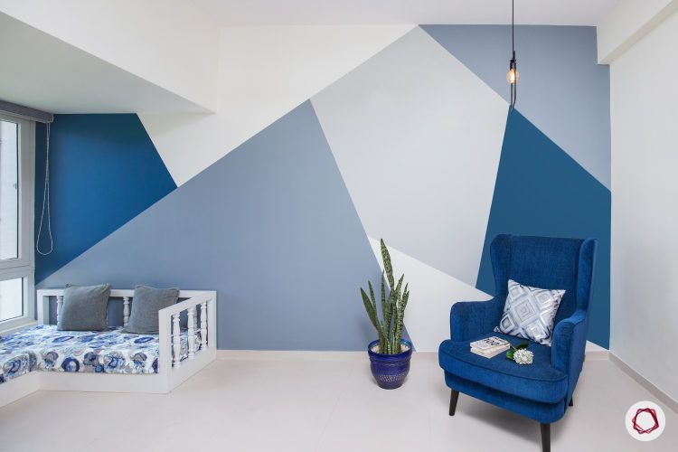 Beautiful In Blue 33 Room Designs You Ll Love Bedroom Wall Paint Bedroom Wall Designs Living Room Paint Living room painting designs pictures
