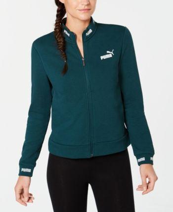 Puma Amplified Track Jacket Ponderosa Pine   Blazer
