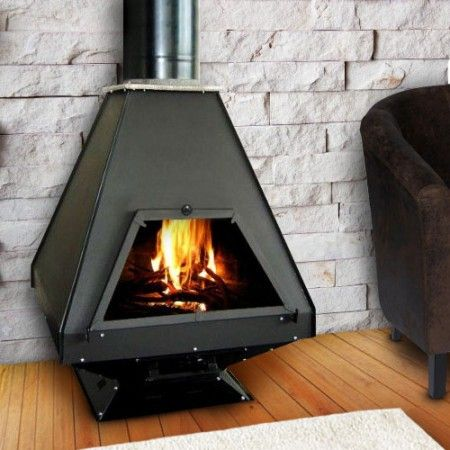 Poele A Bois Moderna Taifun 21 Kw With Images Wood Stove
